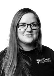 Printline Portrait Britta