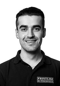 Printline Portrait Roman